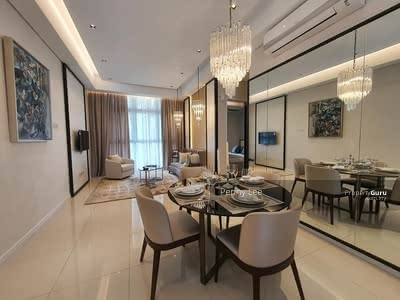 For Sale - Direct Link Bridge 80m To MRT [FREEHOLD]2021 Cheras Best Condo, Swimming Pool View, 0% Downpayment