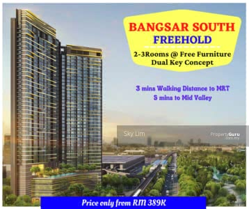 For Sale - bangsar new  freehold  condo below market 30% freehold