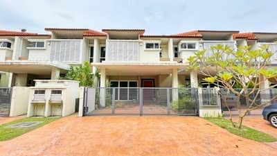 For Sale - UNOCCUPIED VACANT Superlink Double Storey Temasya Citra Glenmarie freehold