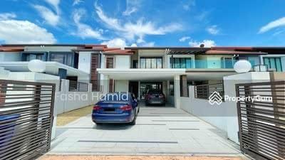 For Sale - FACING OPEN Superlink 2storey House Temasya Sinar Glenmarie U1 Shah Alam frrehold big land size