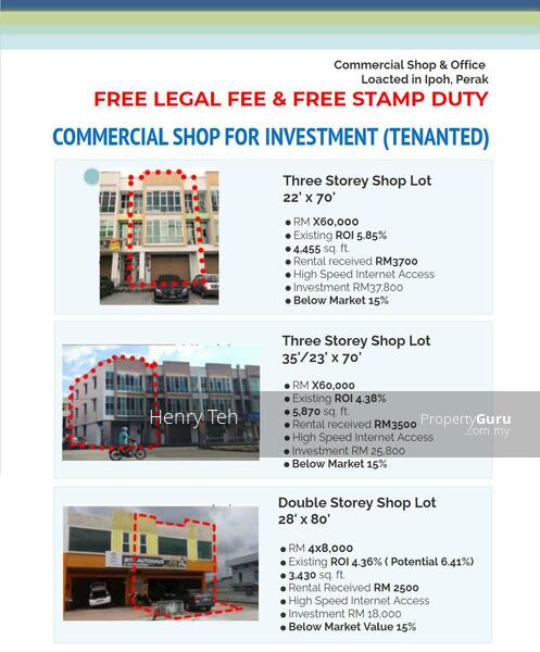 For Sale Investment Shop Station 18 with Tenanted ROI 4.36% ~ ROI 6.41% #162958486