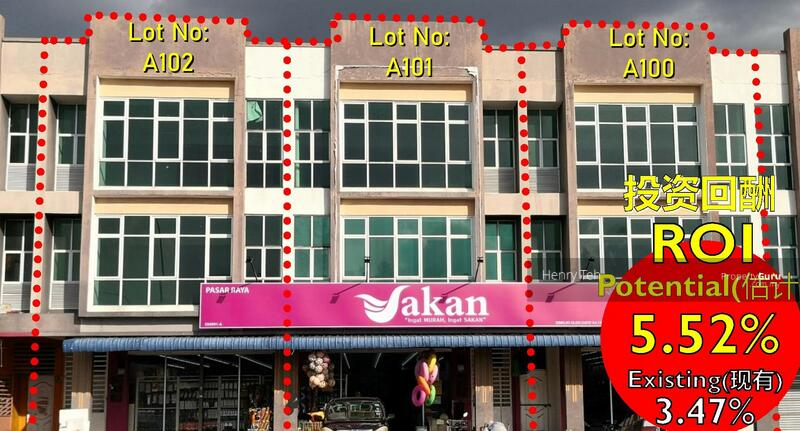 For Sale Investment Shop Station 18 with Tenanted ROI 4.36% ~ ROI 6.41% #162958506