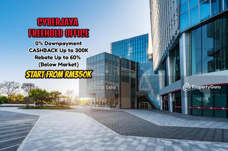 Cyberjaya Office Cashback 300K FREE All Legal Fees MOT Ready Move In #163156476