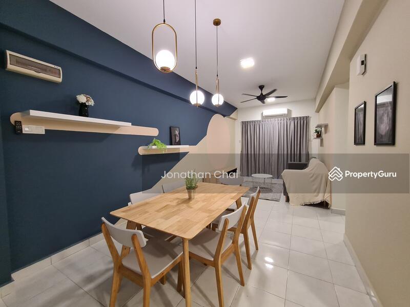 Minimalist 【Fully Furnished 100% Renovated】 HOC2021 3-room Condo Shah Alam #163189656
