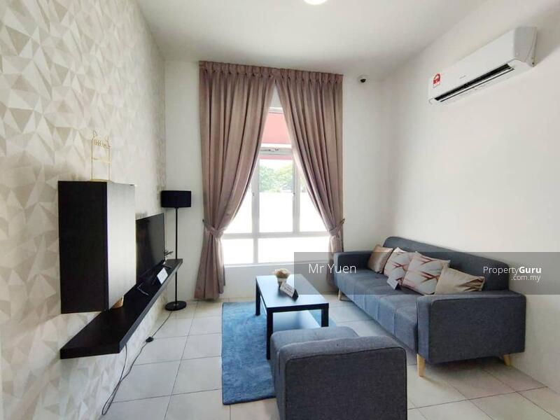 Living Hall - Fully Furnished