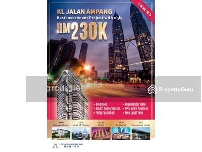 Dijual - Masih bolehkah anda sapat rumah yang harga RM230K kat Jalan Ampang KLCC tak??