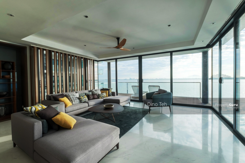 ⭐ Penang Island, New Waterfront Bungalow with Boat Deck, The Light Collection IV, Gelugor, Penang #163387170