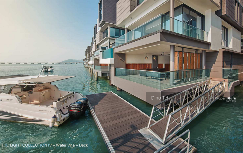 ⭐ Penang Island, New Waterfront Bungalow with Boat Deck, The Light Collection IV, Gelugor, Penang #163387246