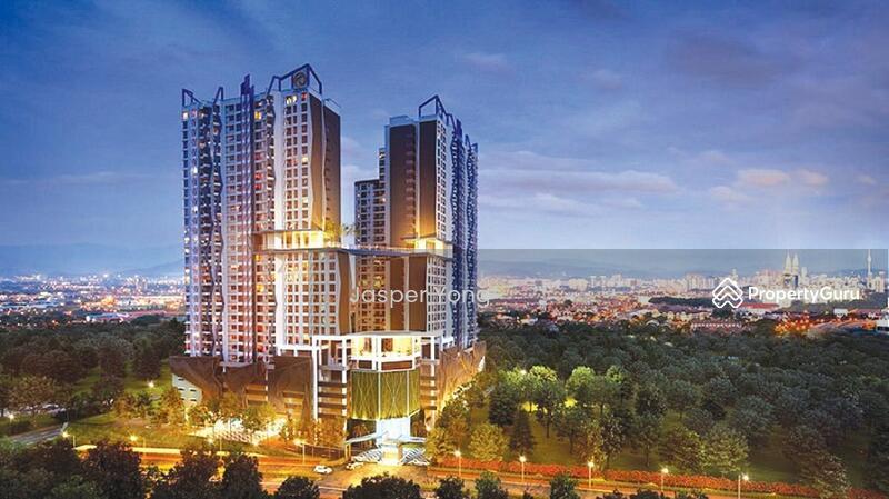 Sky Condominium above mall locate in the heart of Setia Alam (international zone) #163583538