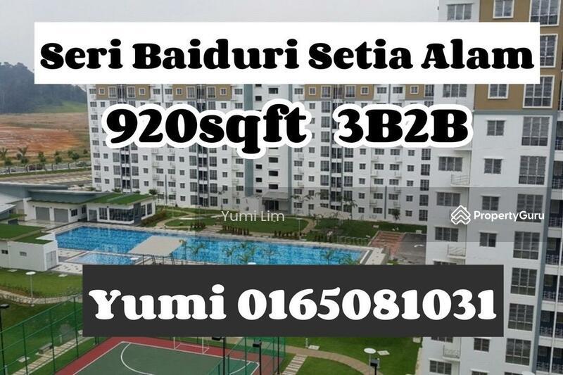 Seri Baiduri Apartments @ Setia Alam #163706784