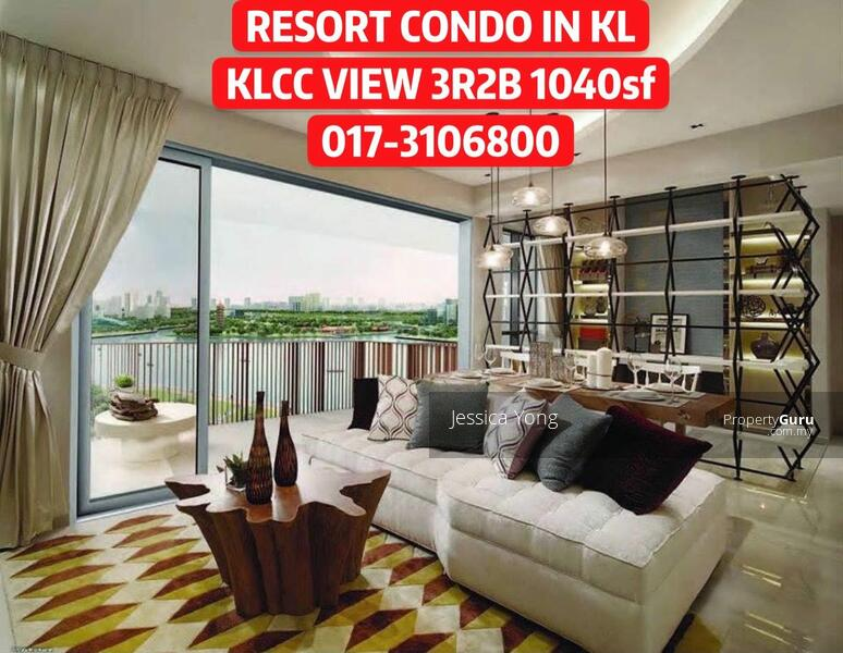 (CASH BACK RM 43,000) KLCC Titiwangsa Lake View Condo. 3R2B 1040sf Balcony 2 Carpark. HURRY #163807208