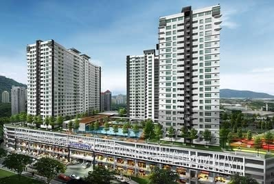 For Sale - (SUNWAY VELOCITY CONCEPT) Setia Alam City Center Highest Condo Link With Mall, Shops, Grocery Stores