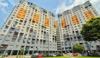 For Sale - 14/7/2021 BANK LELONG No. C-15-40, Sri Penara Apartment, Bandar Sri Permaisuri, CHERAS