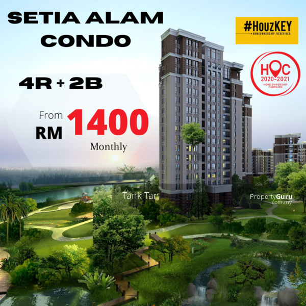 3-4ROOM CONDO SETIA ECO PARK(UP TO RM70K CASH BACK)&(MONTHLY FROM RM1200) LIFESTYLE MALL #164234722
