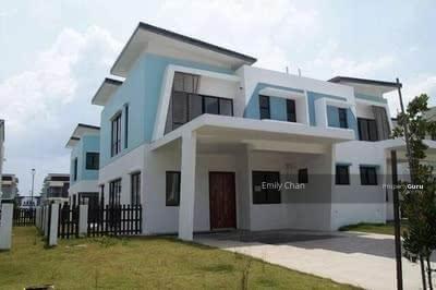 For Sale - [Hilltop Semi-D Concept] 40x80 Freehold! ! Double Storey! ! Under HOC! ! Near Aeon! !
