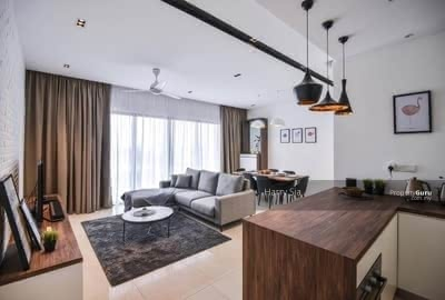 For Sale - [Monthly From RM1200] Big Size With Fully Furnished 3R2B Condo