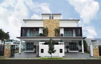 For Sale - [Hot Sell! ! ! 2020 Completed+0%D/P]2-Sty Freehold Superlink 23x80 Damansara