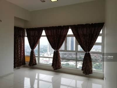 For Rent - MH Platinum Partly Furnish Kitchen Cabinet KL Traders Square Gombak