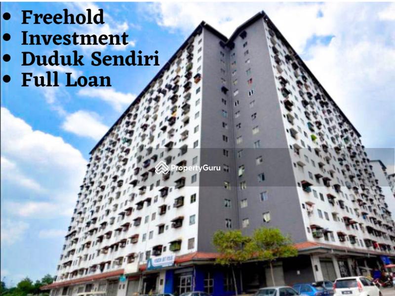 KTM LRT I City Freehold 3 Room Investment Full Loan #164466808