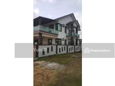 For Sale - Tanah Lot with 2 unit Semi-D Single Storey Kg Bakau Tinggi, Kemaman