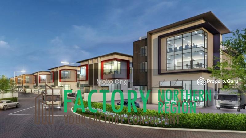 Light Industry Semi Detached Factory #164581514