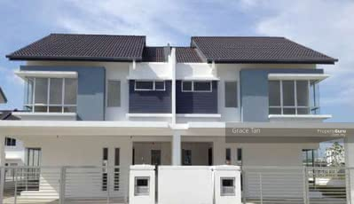 For Sale - Zero downpayment only 1k booking new double storey 22x70 near to shamelin mall, ampang