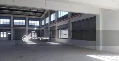For Rent - RM18k Only! Land 20k sf, Built-up 8518sf! Bandar Bukit Raja / Gateway 16 Detached Factory to Let