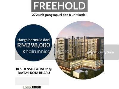 For Sale - Kondominium Platinum di Ibu Negeri Kelantan