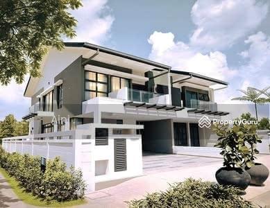 For Sale - Sri sendayan Conner lot 47x80 2 tingkat freehold Gated and Guarded depan taman permainan  (bumi lot)