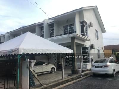 For Sale - Double Storey End Lot Taman Cacar Murni, Paka  Freehold