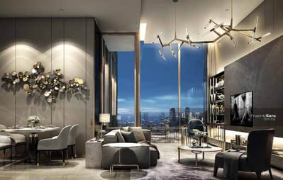 For Sale - [PURE RESIDENTIAL] KLCC & Golf Course View 12 ft Ceiling Height Luxury Condo with Private Lift