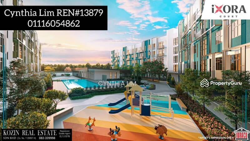 IXORA Court Apartment @ Stutong Baru #164854942