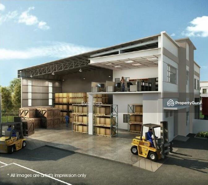 Senai 29 @ Senai Industrial Park Semi-D Corporate Factories #164890692