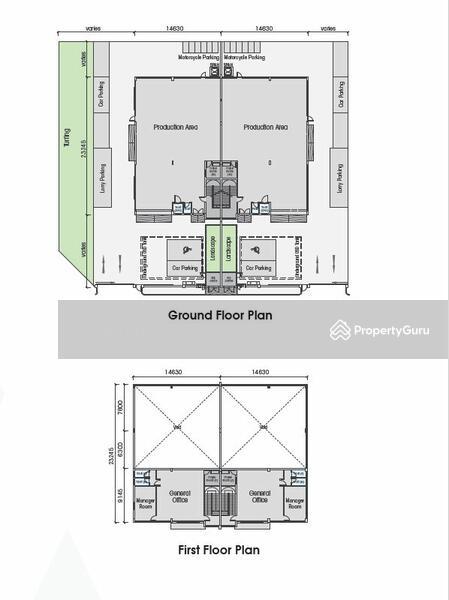 Senai 29 @ Senai Industrial Park Semi-D Corporate Factories #164890702