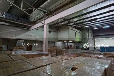 For Rent - Corner Factory Warehouse Johor Jaya Rosmerah Facing Main Road, Molek Plentong, Near Jalan Pandan JB