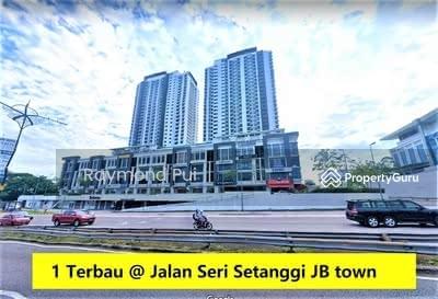 For Rent - 1 Terbau @ Jalan Setanggi Johor Bahru
