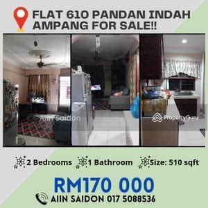 For Sale - Pandan Indah Flat (Rumah Pangsa 610)