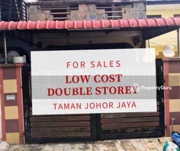 For Sale - Taman johor jaya low cost double storey fully renovated balcony