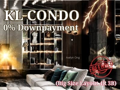 For Sale - Rm590k Next Sunway Putra Mall Condo (Semi-D Layout)