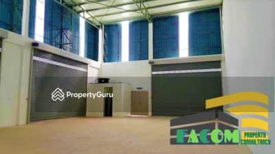 Dijual - 1. 5 Storey Semi-Detached Factory @ Taman Industri Impian