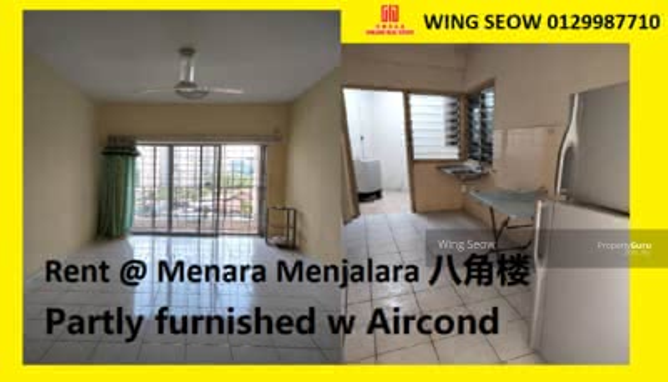 For Rent - Pangsapuri Menara Menjalara