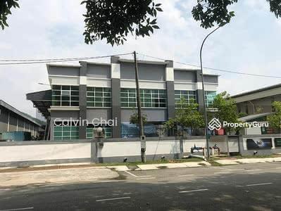 For Rent - Semenyih Kws Perindustrian Mahkota Beranang 35ksf 2sty Bungalow Factory/Warehouse