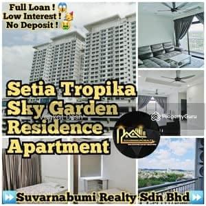For Sale - SETIA TROPIKA SKY GARDEN RESIDENCE APARTMENT FULL LOAN JOHOR BAHRU