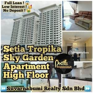 For Sale - SETIA TROPIKA SKY GARDEN APARTMENT HIGH FLOOR FULL LOAN JOHOR BAHRU