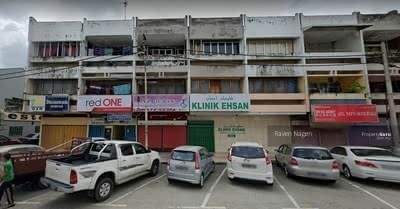 For Sale - Ground Floor Shop lot For Sale At Jalan Ponniah, Mentakab