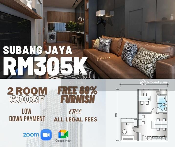 Cheapest 2 Room Condo in Subang Jaya #166052844