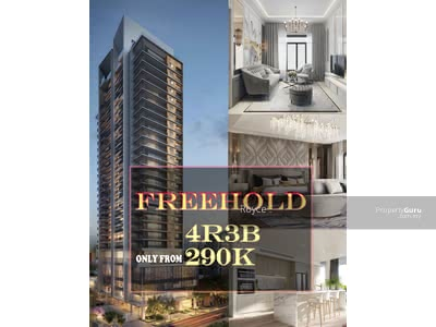 For Sale - 【FREEHOLD】 KTM-MRT PROJECT ║ 4 ROOMS 3 BATHROOMS ║