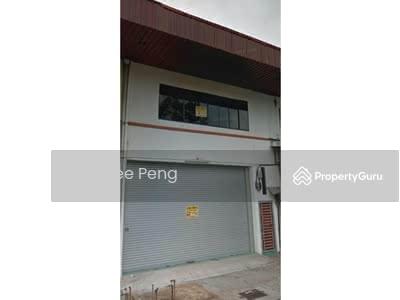 For Rent - Kawasan Perindustrian Tampoi Jaya @ Jalan Bayu Double Storey Terrace Factory For Rent