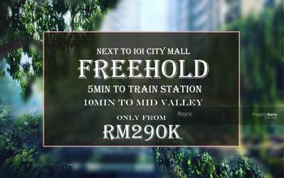For Sale - 【  FREEHOLD KTM-MRT PROJECT】4R3B  Doorstep to commercial paradise || Low entry high return