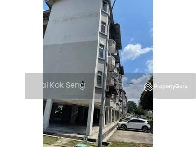 For Sale - Medium Cost Flat @ Taman Perumahan Lima Kedai, Skudai, Johor.